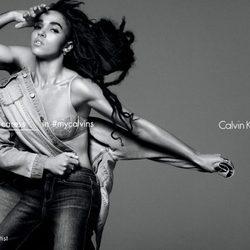 FKA twigs imagen de la campaña de Calvin Klein Jeans primavera 2016