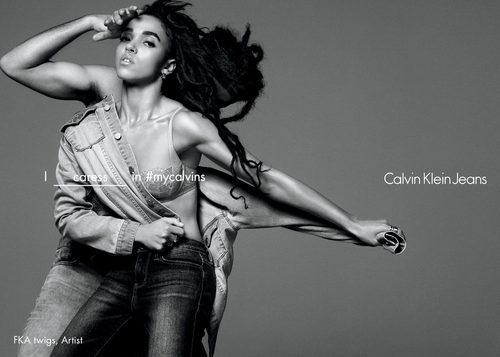FKA twigs se une a la campaña de Calvin Klein Jeans para la coleccion primavera/verano 2016