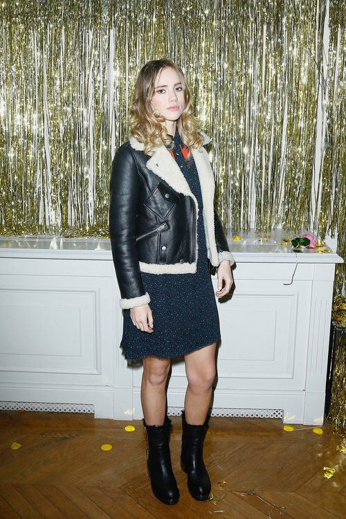 La modelo Suki Waterhouse en la Fashion Week de Paris 2016