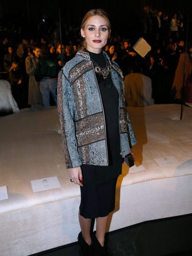Olivia Palermo en el front row de la Fashion Week de Paris 2016