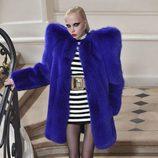 Abrigos de peluche robaron miradas en el desfile de Saint Laurent en Paris Fashion Week otoño/invierno 2016/2017