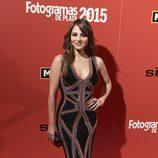 Andrea Duro con un vestido étnico en los Fotogramas de Plata 2015