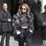 Gigi Hadid en desfile de Chanel en la Paris Fashion Show 2016
