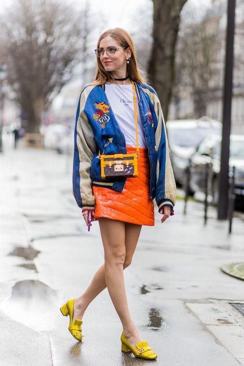 Street style de Chiara Ferragni durante la Semana de la Moda de Paris 2016