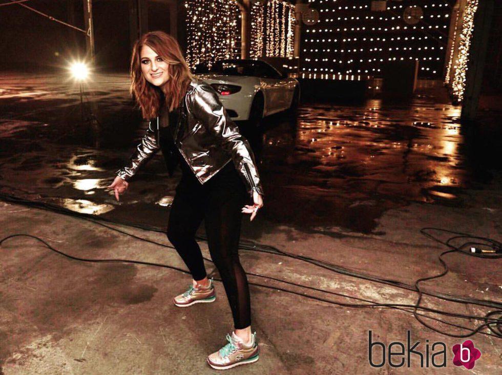 Meghan Trainor imagen de la nueva campaña de Skechers 2016