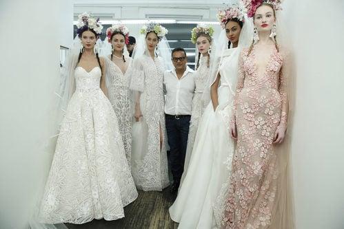 El diseñador Naeem Khan participa en Barcelona Bridal Fashion Week 2016