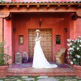 Vanesa Romero vestida de novia con la colección primavera/verano 2016 de Namdalay