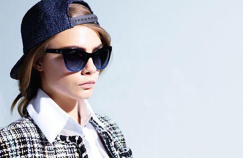 Cara Delevingne, imagen de las gafas de sol de la colección Chanel 2016