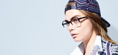 Cara Delevingne, imagen de las gafas graduadas de la colección Chanel 2016