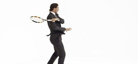 Rafa Nadal para Tommy Hilfiger en la nueva campaña de trajes