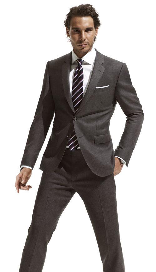 Rafa Nadal en la nueva campaña de trajes de Tommy Hilfiger