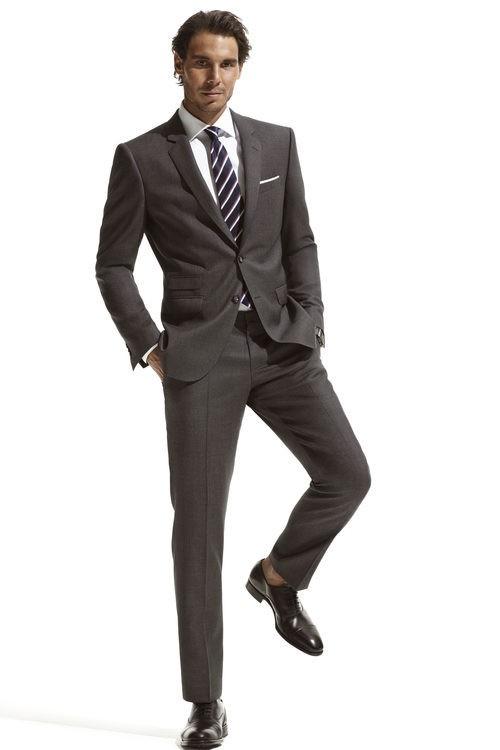 Rafa Nadal posa para Tommy HIlfiger en la nueva campaña de trajes