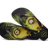 Sandalias Havaianas edición los Minions negras colección primavera/verano 2016
