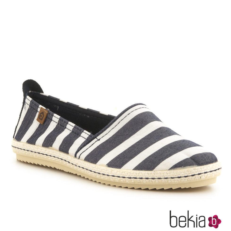 Zapatos marineros de tela de la colecci n primavera verano - Zapateros de tela ...
