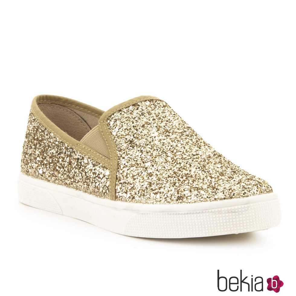 Zapatos dorados para mujer  41 lDe72BH