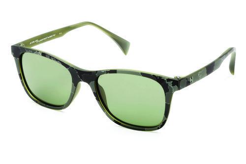 Gafas con estampado y lentes verde militar de la colección primavera/verano 2016 de Italia Independent