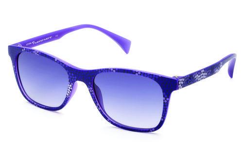 Gafas con marco de lunares y lente morados de la colección primavera/verano 2016 de Italia Independent