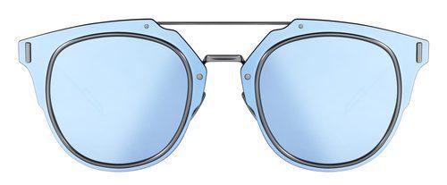 Frontal de gafas de sol azul de la coleccion otoño 2016 de Dior
