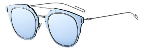 Perspectiva de gafas azules de sol de Dior otoño 2016
