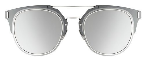 Frontal de las gafas silver de Dior otoño 2016