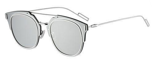 Perspectiva de gafas silver de sol de Dior otoño 2016