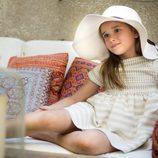 Vestido Camel de niña de la nueva colección primavera/verano de OhSoleil