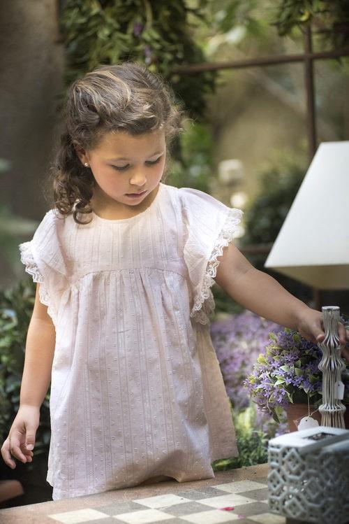 Vestido rosa de niña de la nueva colección primavera/verano de OhSoleil