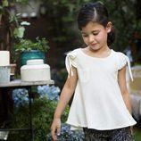 Conjunto de blusa y short de la nueva colección primavera/verano de OhSoleil