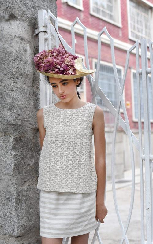Blusa y falda de la nueva colección primavera/verano de OhSoleil