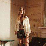 Pantalón corto y crop top verde caza de la campaña Road to Morocco Primavera/Verano 2016 de Primark