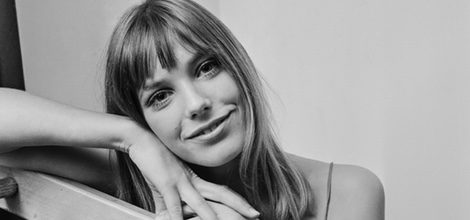 La icónica Jane Birkin en una foto tomada en 1967