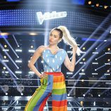 Miley Cyrus en Voice Estados Unidos