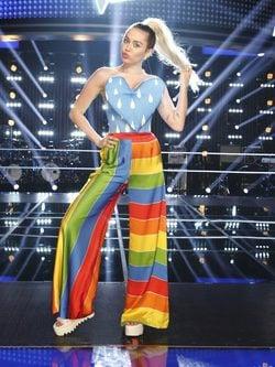 Miley Cyrus en Voice Estados Unidos