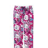 Pantalón de pijama fucsia con estampados florales de la colección primavera/verano 2016 de Etam