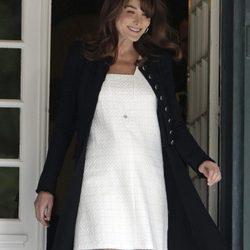 El estilo de Carla Bruni, embarazada
