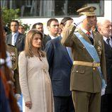 Doña Letizia, en el día de la Hispanidad 2005