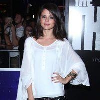 Selena Gómez en el estreno de 'The Thing'
