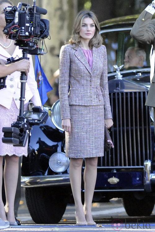 Looks Día de la Hispanidad: La Princesa Letizia el Día de la Fiesta Nacional