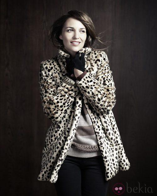 Paula Echevarría para Blanco Print Leopardo