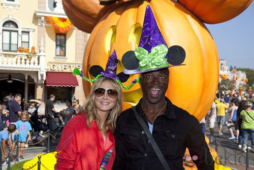 Heidi Klum y Seal, a juego en Hollywood