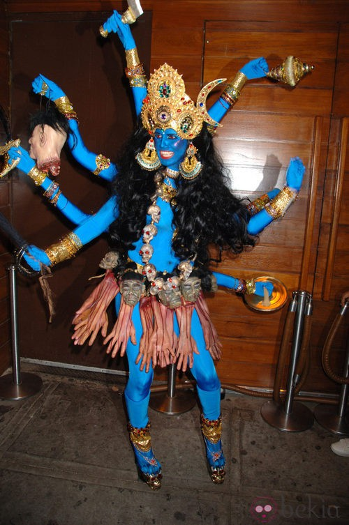 Heidi Klum, una diosa hindú