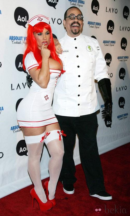 Ice-T y Coco, médico y enfermera