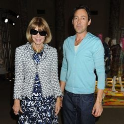 Anna Wintour junto a Gregory Parkinson