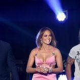 Jennifer Lopez con vestido de Fausto Puglisi en American Idol