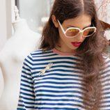 Blusa a rayas marinera y falda rosada estampada de la colección primavera/verano 2016 de & Other Stories