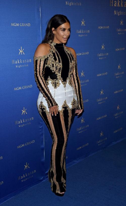 Kim Kardashian West en el aniversario de Hakkasan Las Vegas Nightclub