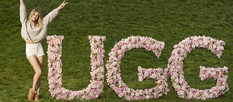 Rosie Huntington-Whiteley la nueva imagen de UGG en la colección Otoño/Invierno 2016