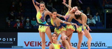 Equipo de gimnasia ritmica Español 2016