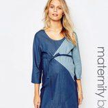 Vestido de vaquero de Asos de la colección maternidad primavera/verano 2016