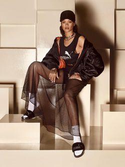 Campaña Fur Slides de Fenty for Puma de Rihanna